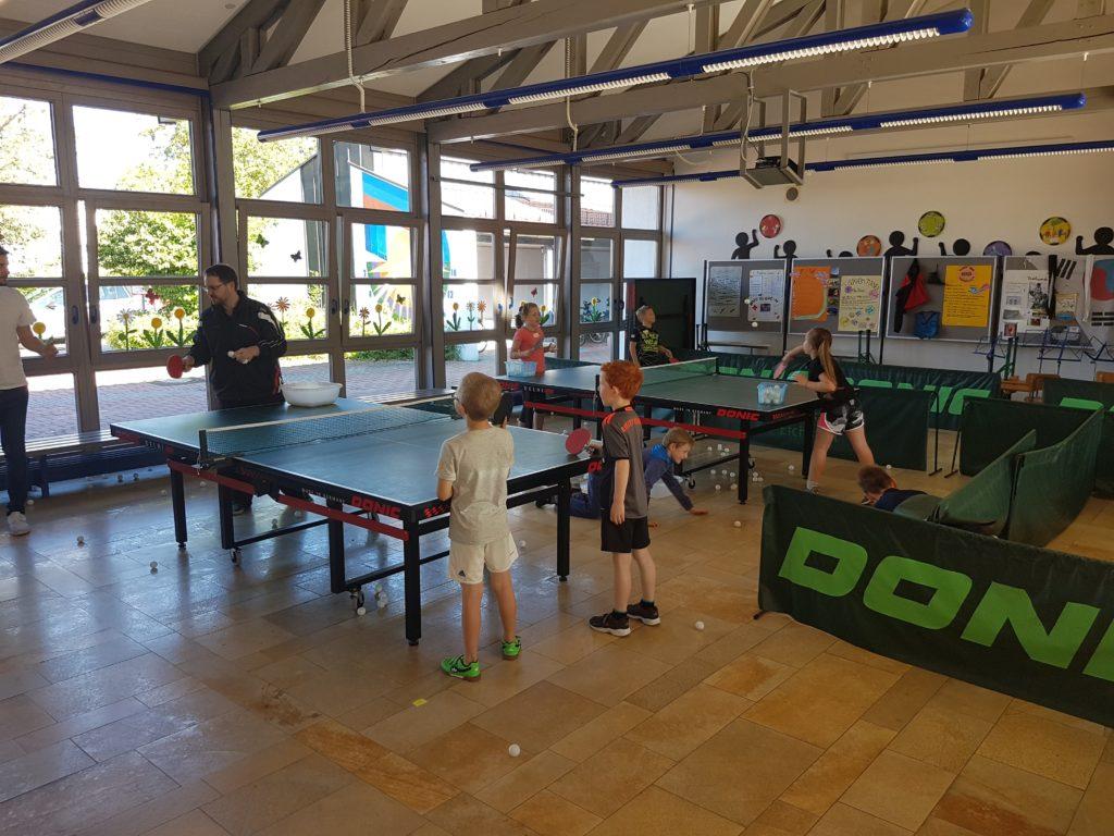 Sporttag inkl. Schnuppertraining in der Grundschule Buxheim