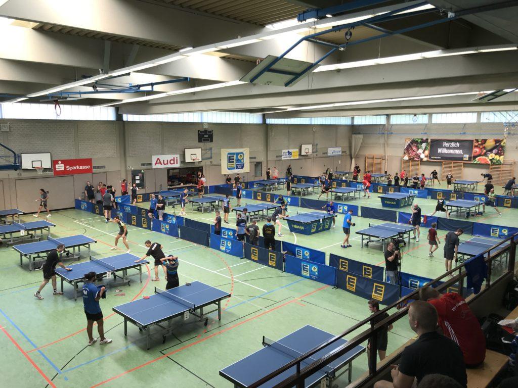 Unser größtes Turnier - der EDEKA Südbayern Tischtennis-Cup - in Ingolstadt