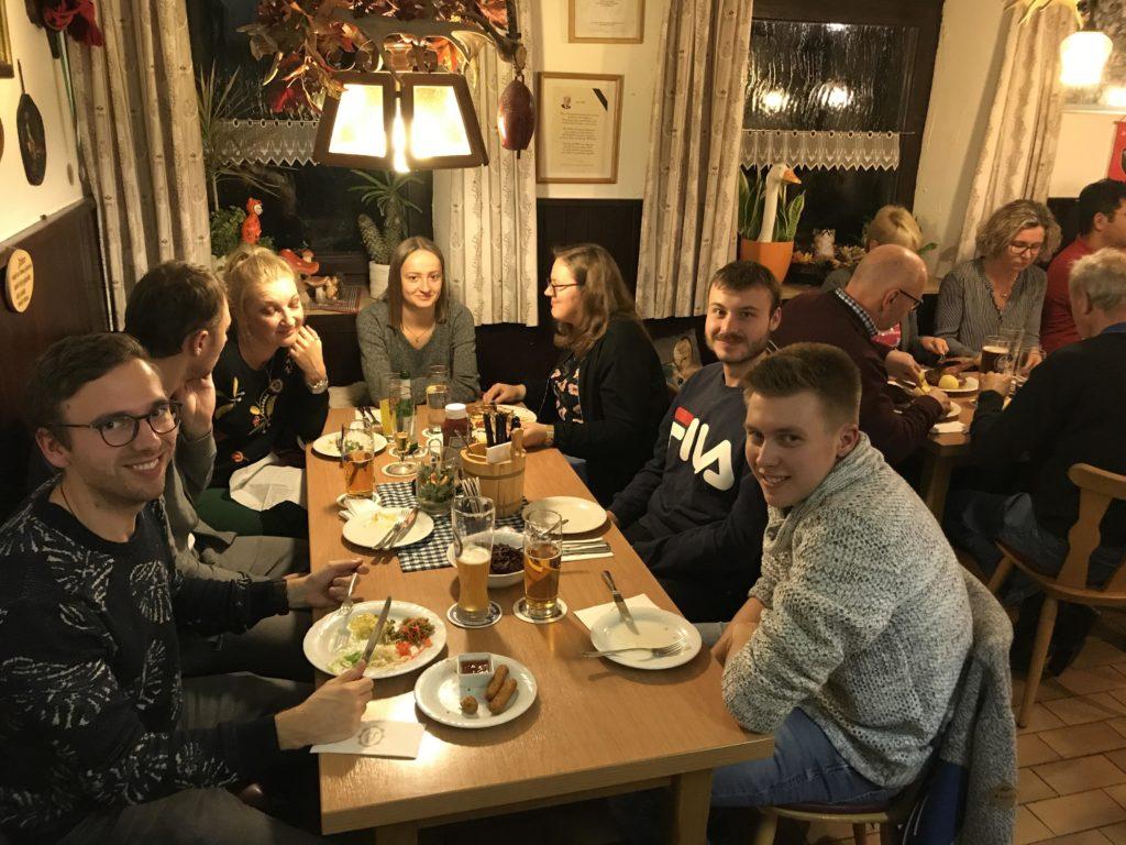 Entenessen im Gasthaus Schmutter in Ried